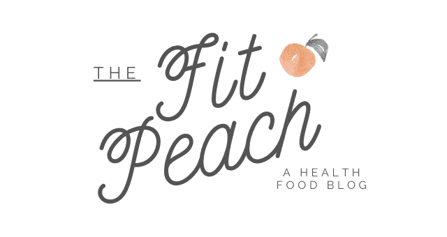 The Fit Peach logo
